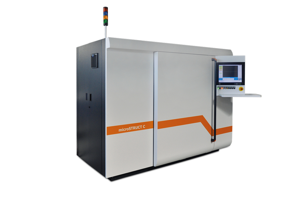 Highly Versatile Laser Micromachining System