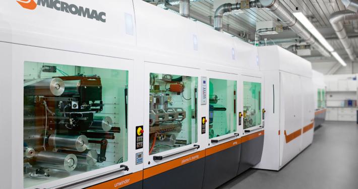 microFLEX Rolle-zu-Rolle Laserbearbeitung