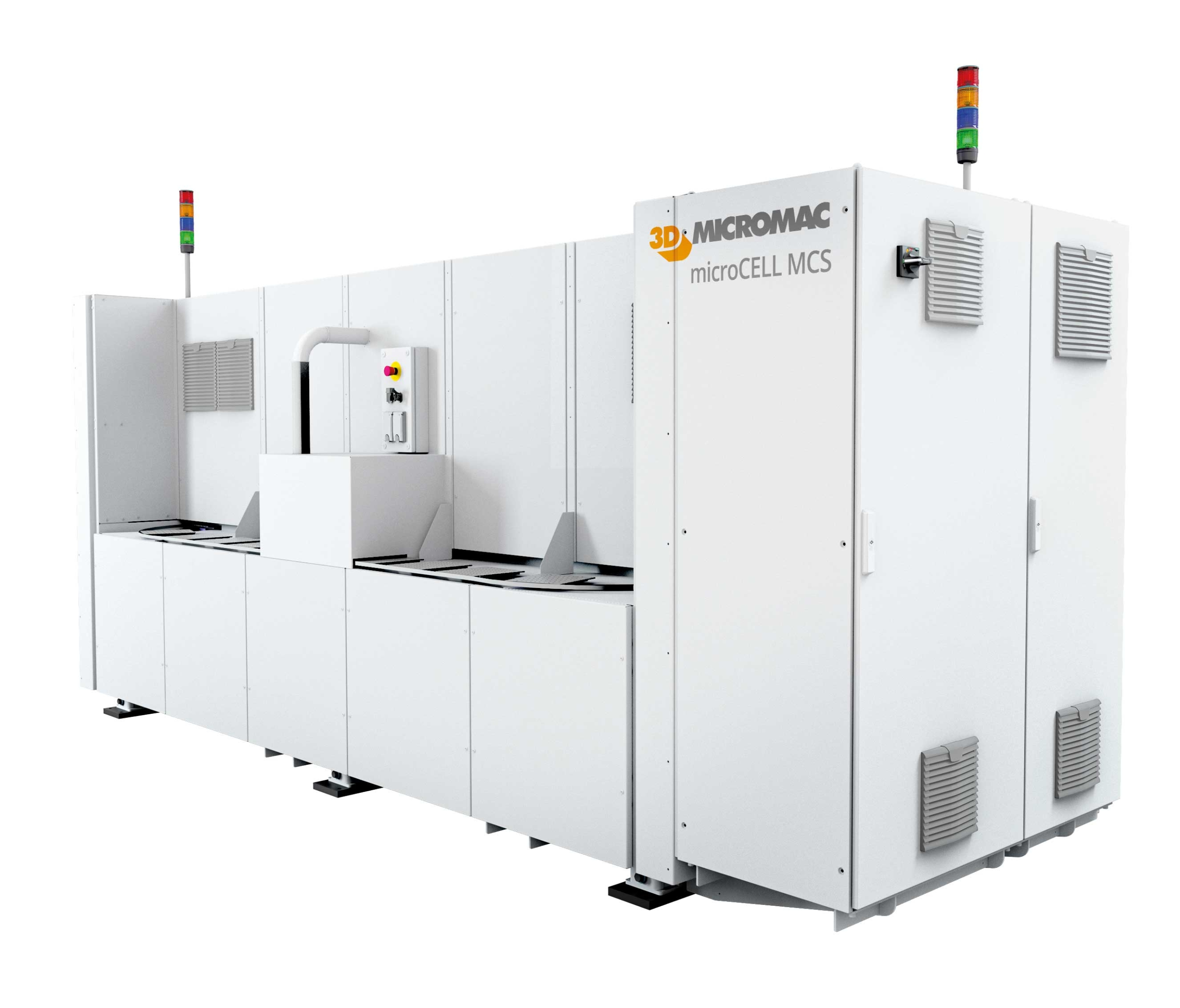 microCELL™ MCS - system for half- and shingled-cell cutting